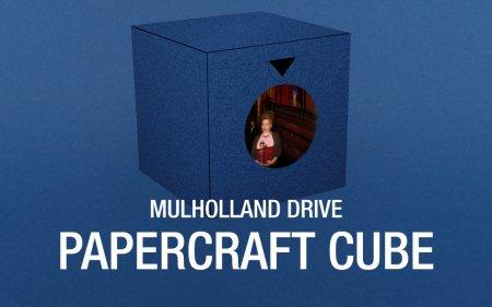 Mulholland Drive Papercraft Cube