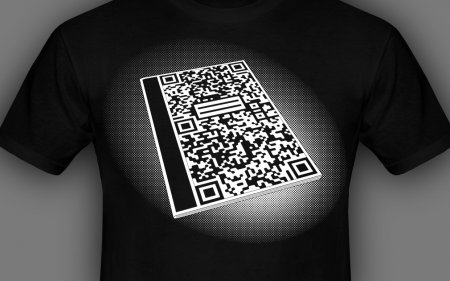 QR Code Composition Book shirt