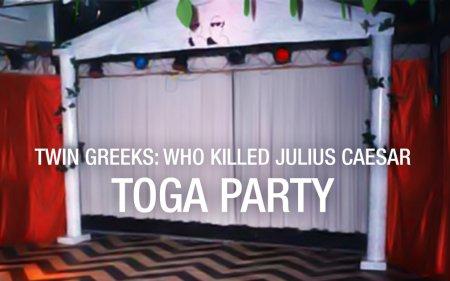 Twin Greeks (Twin Peaks Toga Party)